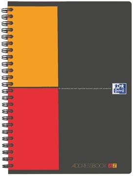 Oxford INTERNATIONAL Addressbook, ft A5, 144 bladzijden