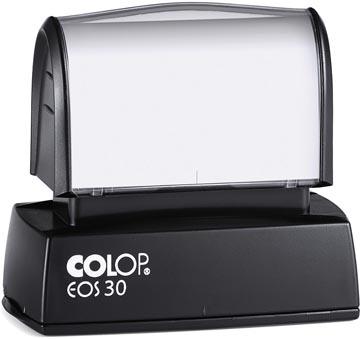 Colop EOS 30 Xpress stempel blauw