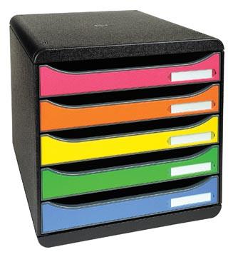 Exacompta ladenblok Big-Box Plus Classic, harlekijn
