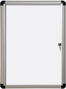 Pergamy Excellence magnetische glazen vitrine Extra Slim ft 4 x A4