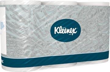 Kleenex toiletpapier, 3-laags, 350 vellen, pak van 6 rollen