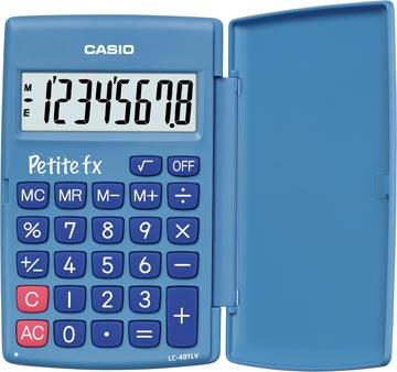 Casio zakrekenmachine Petite FX blauw