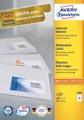 Avery Zweckform 3484, Universele etiketten, Ultragrip, wit, 100 vel, 16 per vel, 105 x 37 mm